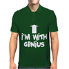 I'm With Genius Mens Polo