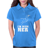 I'm With Her Womens Polo