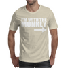 IM WITH MONKEY Mens T-Shirt