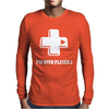 I'm With Player 2 Mens Long Sleeve T-Shirt