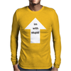 I'm With Stupid Mens Long Sleeve T-Shirt