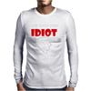 I'M WITH THIS IDIOT FUNN Mens Long Sleeve T-Shirt