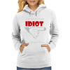 I'M WITH THIS IDIOT FUNN Womens Hoodie