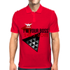 I'm Your Boss Mens Polo