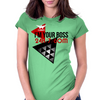 I'm Your Boss Womens Fitted T-Shirt