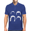 Impractical Jokers Silhouettes Funny Mens Polo