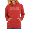 In Alcohols Defence Womens Hoodie