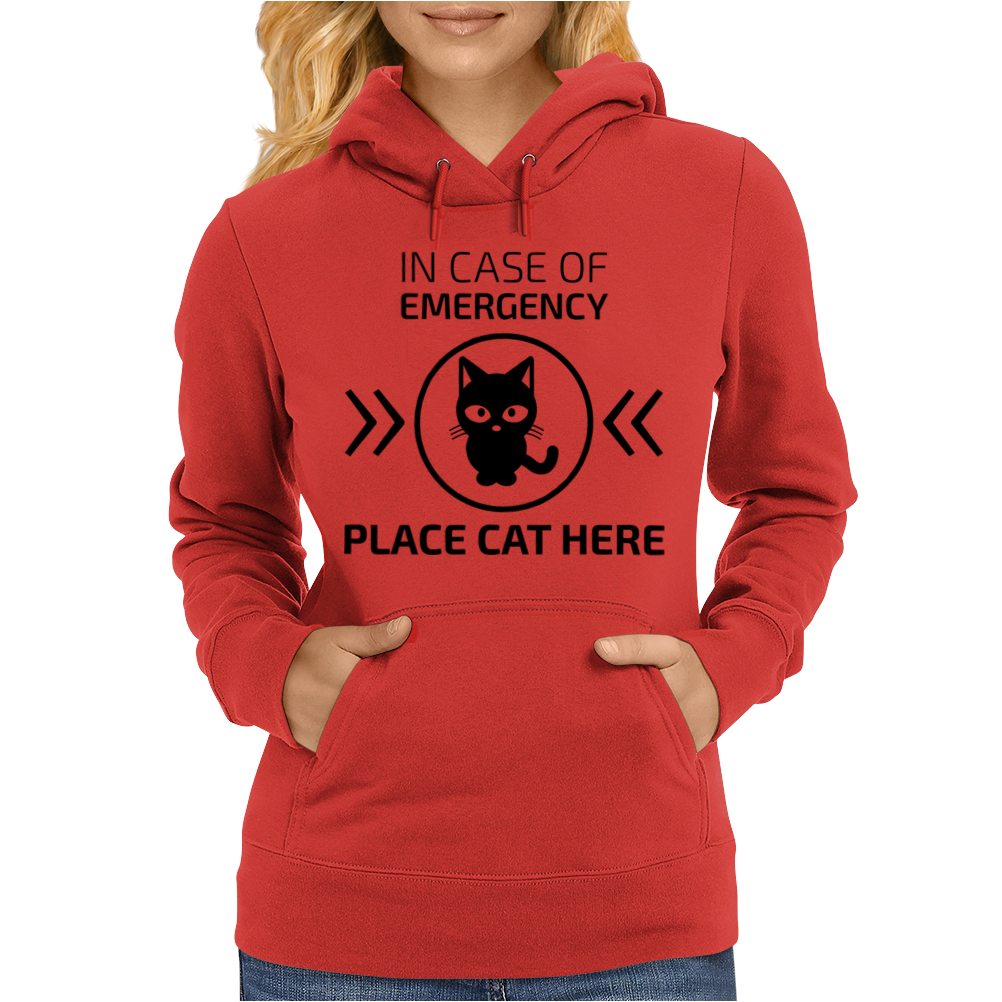 In case of emergency Womens Hoodie
