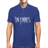In Flames logo Mens Polo