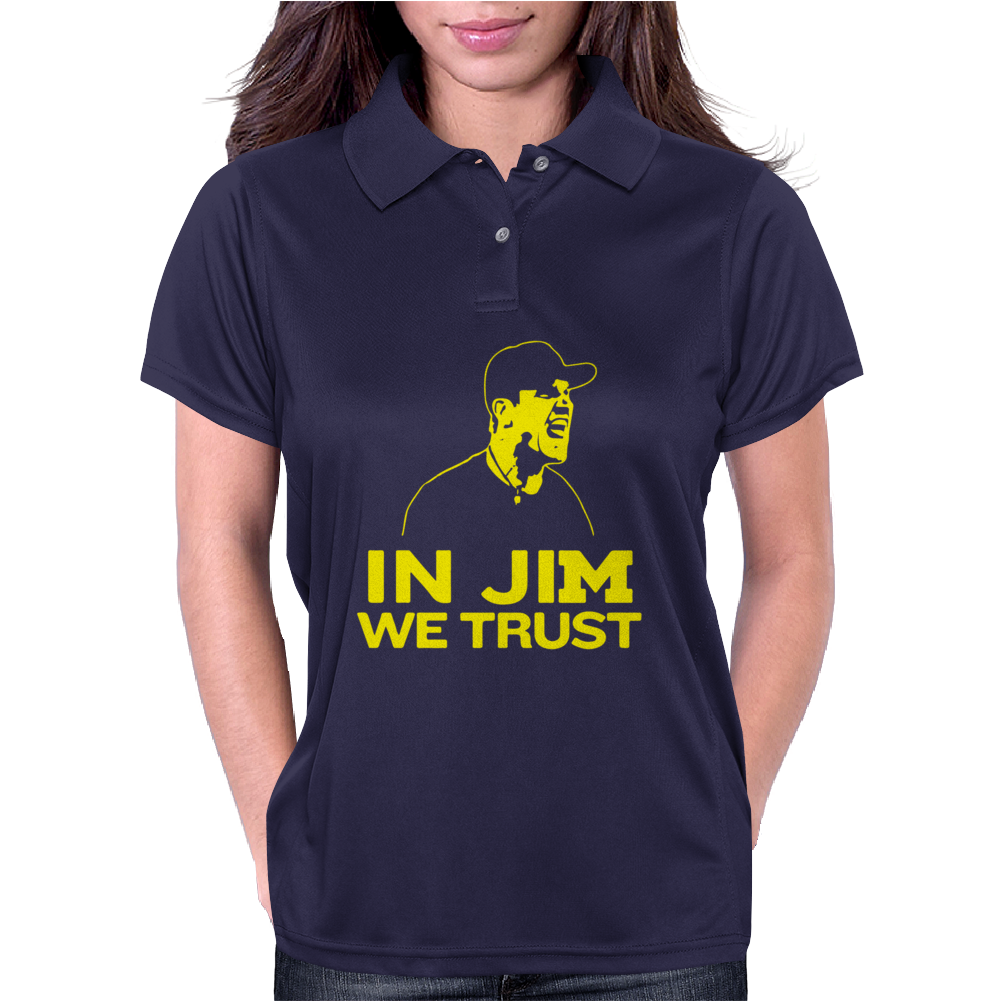 In Jim We Trust Womens Polo