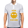 In My Head The Sun Is Shining Mens Polo