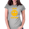 In My Head The Sun Is Shining Womens Fitted T-Shirt