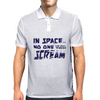In Space... No One Can Hear You Scream Mens Polo