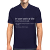 Inconceivable Funny Mens Polo