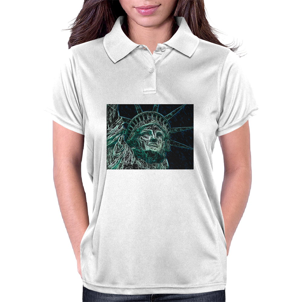 Incredible Lady Liberty.  Statue of Liberty, New York City Womens Polo