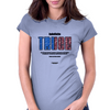 INDEFINITE TRUCE (BLOODS AND CRIPS UNITE)  Womens Fitted T-Shirt