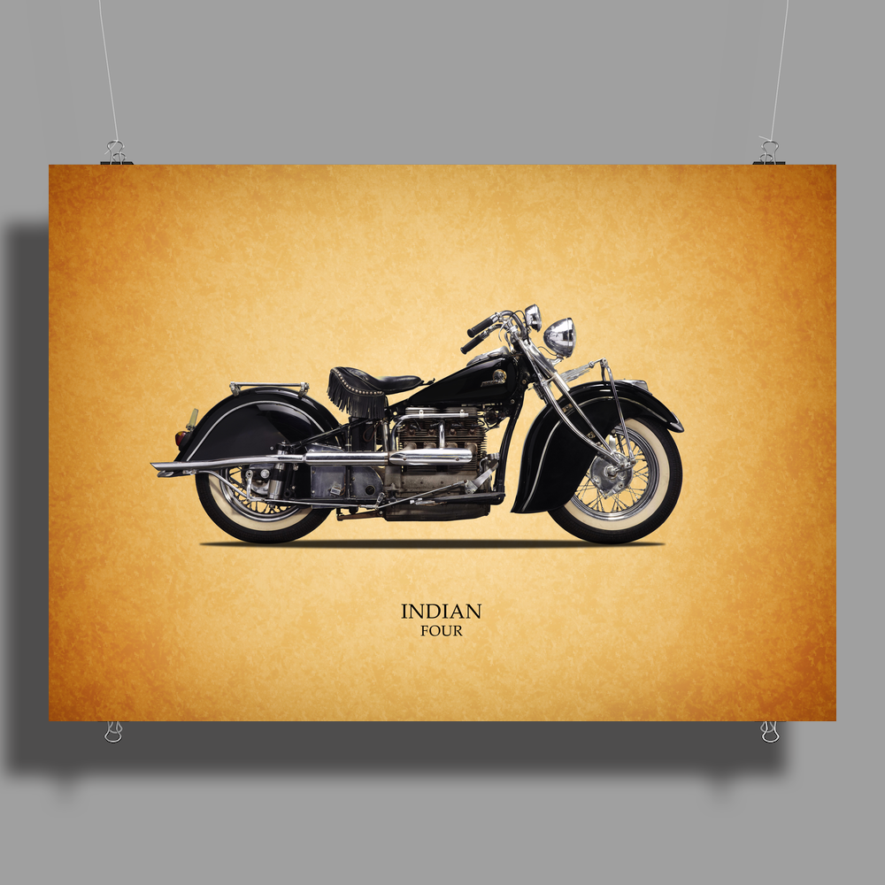 Indian Four 1938 Poster Print (Landscape)