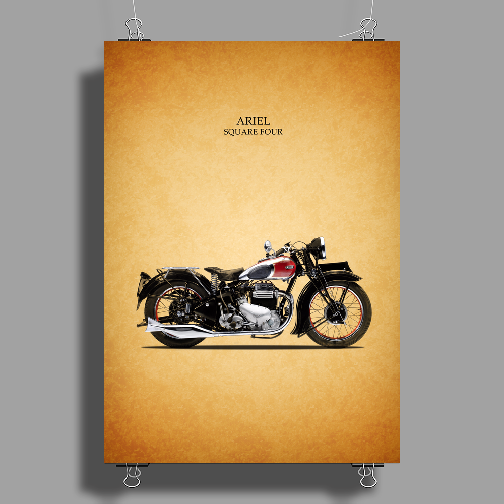 Indian Four 1938 Poster Print (Portrait)
