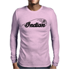Indian Motorcycle Vintage,, Mens Long Sleeve T-Shirt