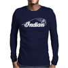 Indian Motorcycle Vintage Mens Long Sleeve T-Shirt