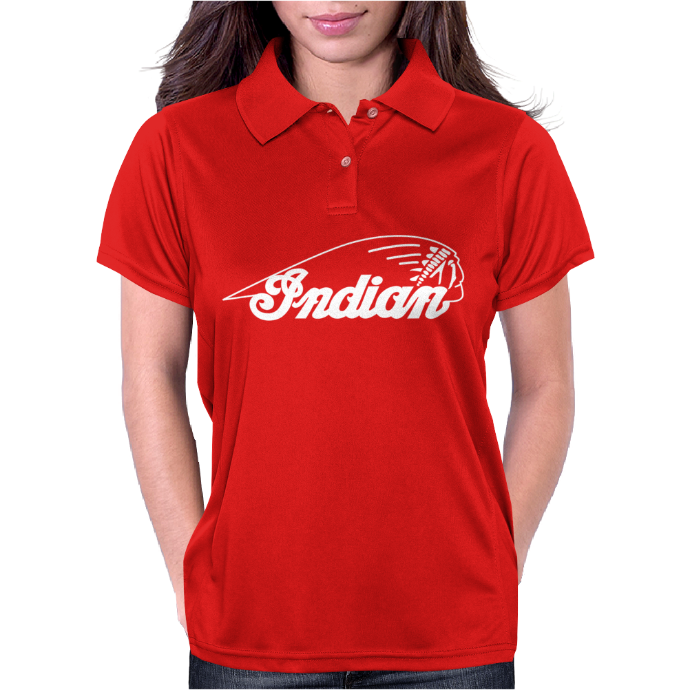 Indian Motorcycle Vintage Womens Polo