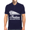 INDIAN MOTORCYCLES MOTOR CYCLE RETRO CLASSIC BIKE VINTAGE Mens Polo