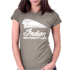 INDIAN MOTORCYCLES MOTOR CYCLE RETRO CLASSIC BIKE VINTAGE Womens Fitted T-Shirt
