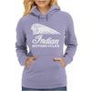 INDIAN MOTORCYCLES MOTOR CYCLE RETRO CLASSIC BIKE VINTAGE Womens Hoodie