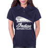 INDIAN MOTORCYCLES MOTOR CYCLE RETRO CLASSIC BIKE VINTAGE Womens Polo