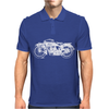 Indian Scout Motorcycle Mens Polo