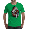 INDIAN / SKULL Mens T-Shirt