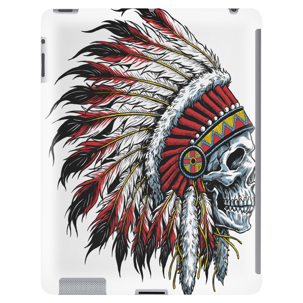 INDIAN / SKULL Tablet (vertical)