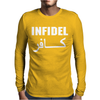 Infidel t shirt- English retro cool Mens Long Sleeve T-Shirt