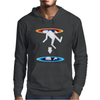 Infinite Portal Loop Video Game Mens Hoodie