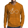 Infinity Knot Anchor Rope Mens Hoodie