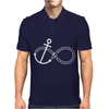 Infinity Knot Anchor Rope Mens Polo
