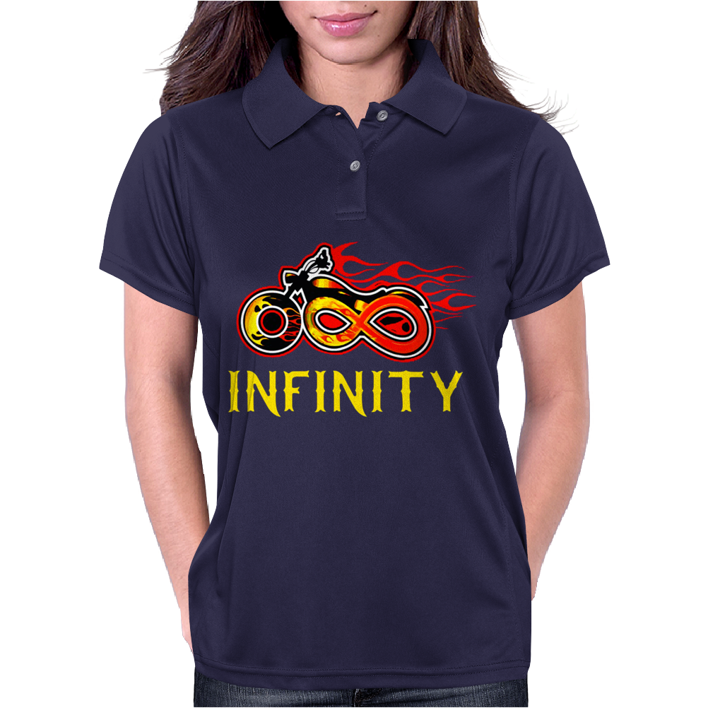 Infinity sign Womens Polo