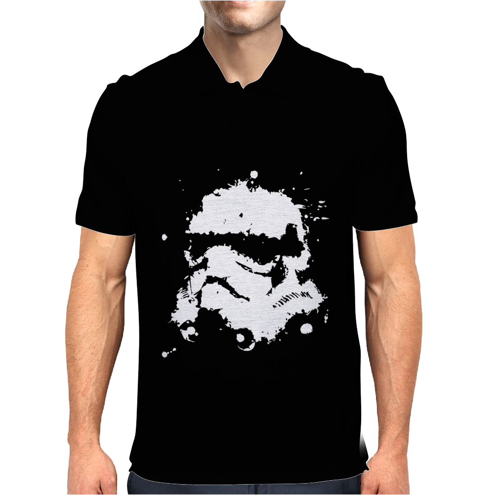 Ink Blast Stromtrooper Star wars Mens Polo