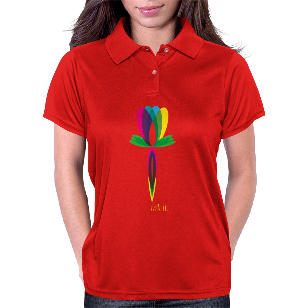 Ink it. Womens Polo