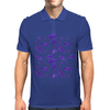 Ink Oak Leaves and Acorns Mens Polo