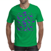 Ink Oak Leaves and Acorns Mens T-Shirt