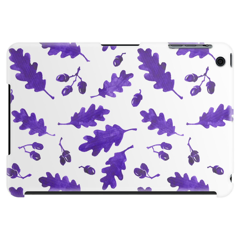 Ink Oak Leaves and Acorns Tablet (horizontal)