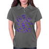 Ink Oak Leaves and Acorns Womens Polo
