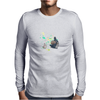 Ink Totoro's friends Mens Long Sleeve T-Shirt