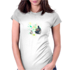Ink Totoro's friends Womens Fitted T-Shirt