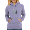 Ink Totoro's friends Womens Hoodie