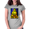 Inner Calm Buddha Womens Fitted T-Shirt