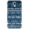 Inspirational Doctor Who Quote Phone Case