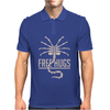 INSPIRED BY ALIENS FREE HUGS SCI-FI FILM FUNNY UNOFFICAL Mens Polo