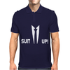 Inspired by How I Met Your Mother, Barney Suit Up Funny Mens Polo